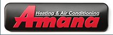 Amana heating and cooling logo