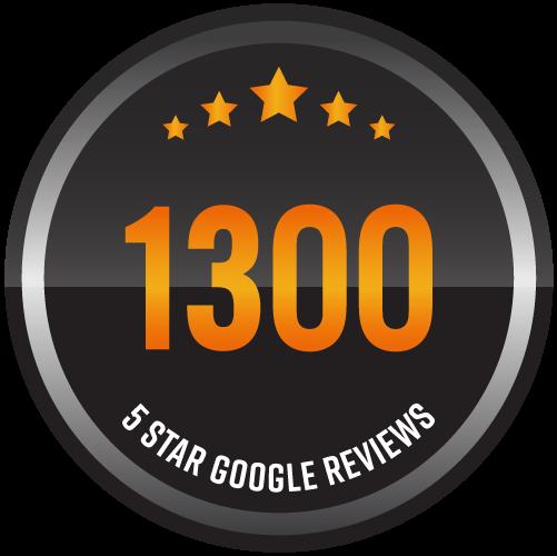 1300 5 star GG reviews